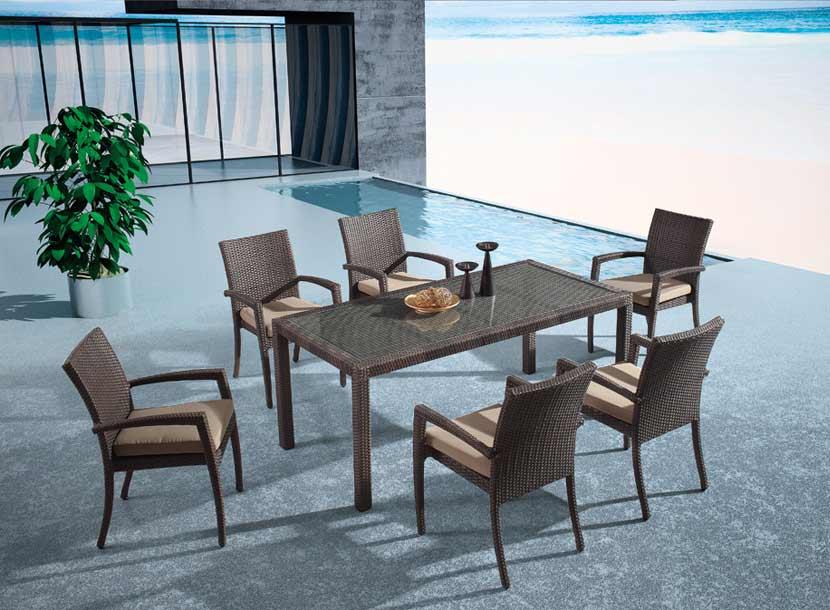 编藤家具,如何清洗编藤桌椅