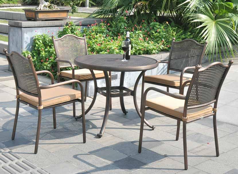 铸铝桌椅价格,批发铸铝桌椅