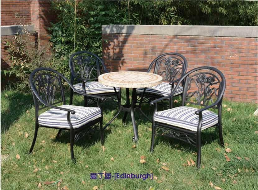 铝合金桌椅,庭院家具,花园桌椅