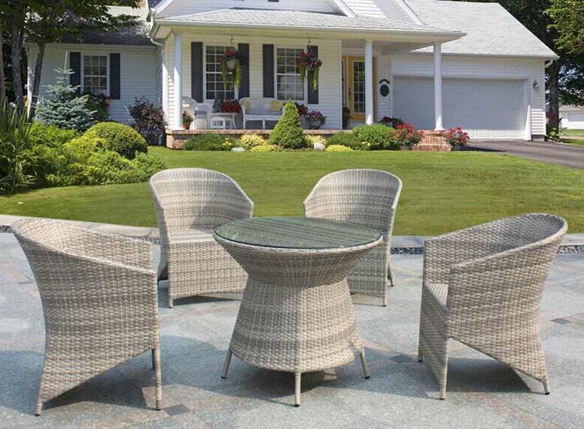 编藤家具,庭院桌椅,阳台编藤桌椅,遮阳伞