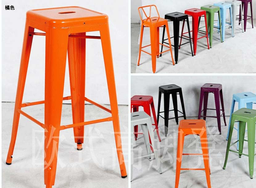 曙光收米直播nba足球篮球互动平台简约时尚吧台椅