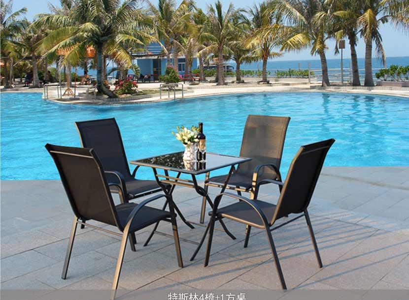 铸铝桌椅,阳台桌椅,公园桌椅