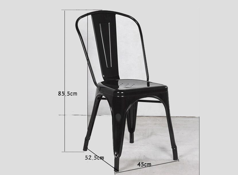 曙光收米直播nba足球篮球互动平台简约时尚无扶手旧金属椅