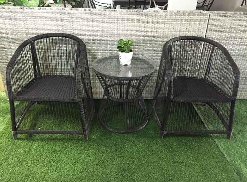 阳台家具,收米直播nba足球篮球互动平台编藤桌椅,休闲家具,凉亭