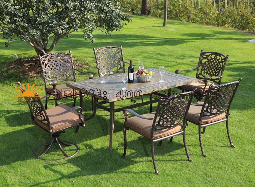 铸铝桌椅,庭院家具,阳台桌椅