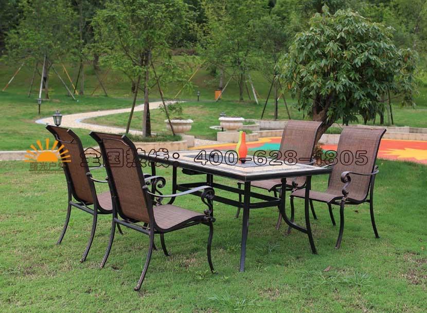 铸铝桌椅,铸铝桌椅生产商