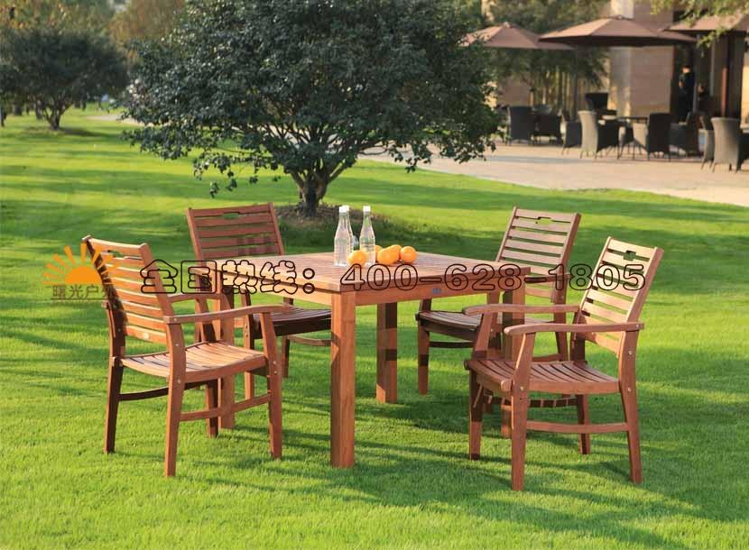实木桌椅,收米直播nba足球篮球互动平台休闲铸铝桌椅,庭院桌椅