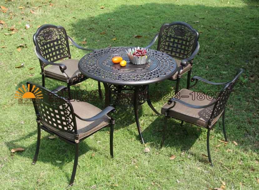 收米直播nba足球篮球互动平台家具,铸铝桌椅价格,批发庭院家具